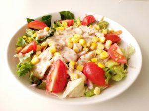 サラダチキンのサラダ