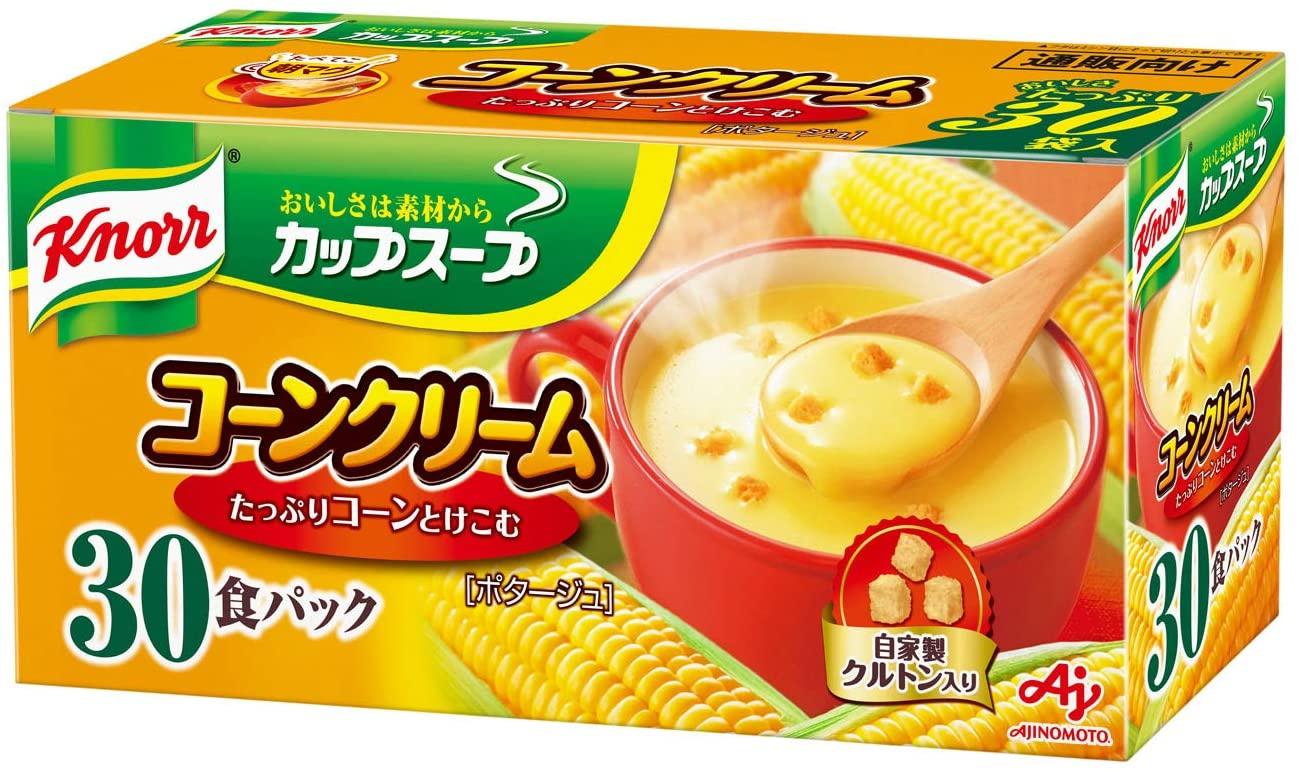 クノールカップスープコーンクリーム