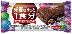 江崎グリコ バランスオンminiケーキ チーズケーキ